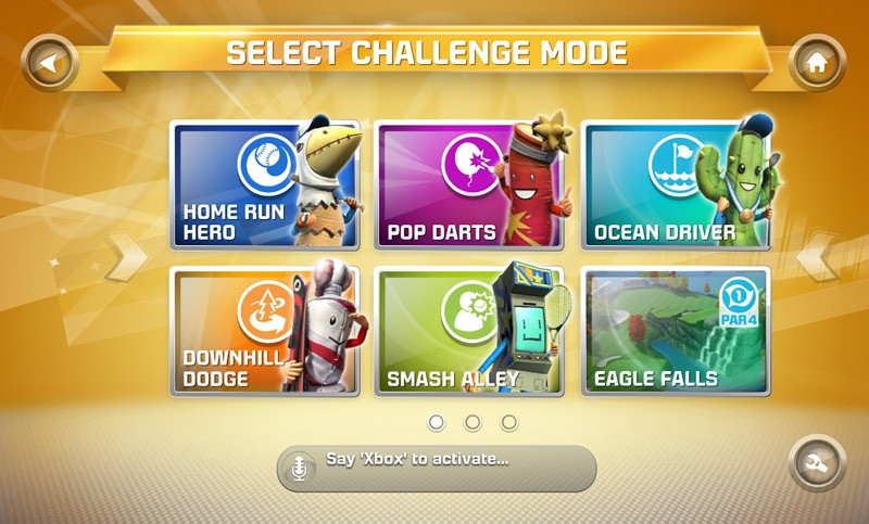 Challenge Gameplay Mode